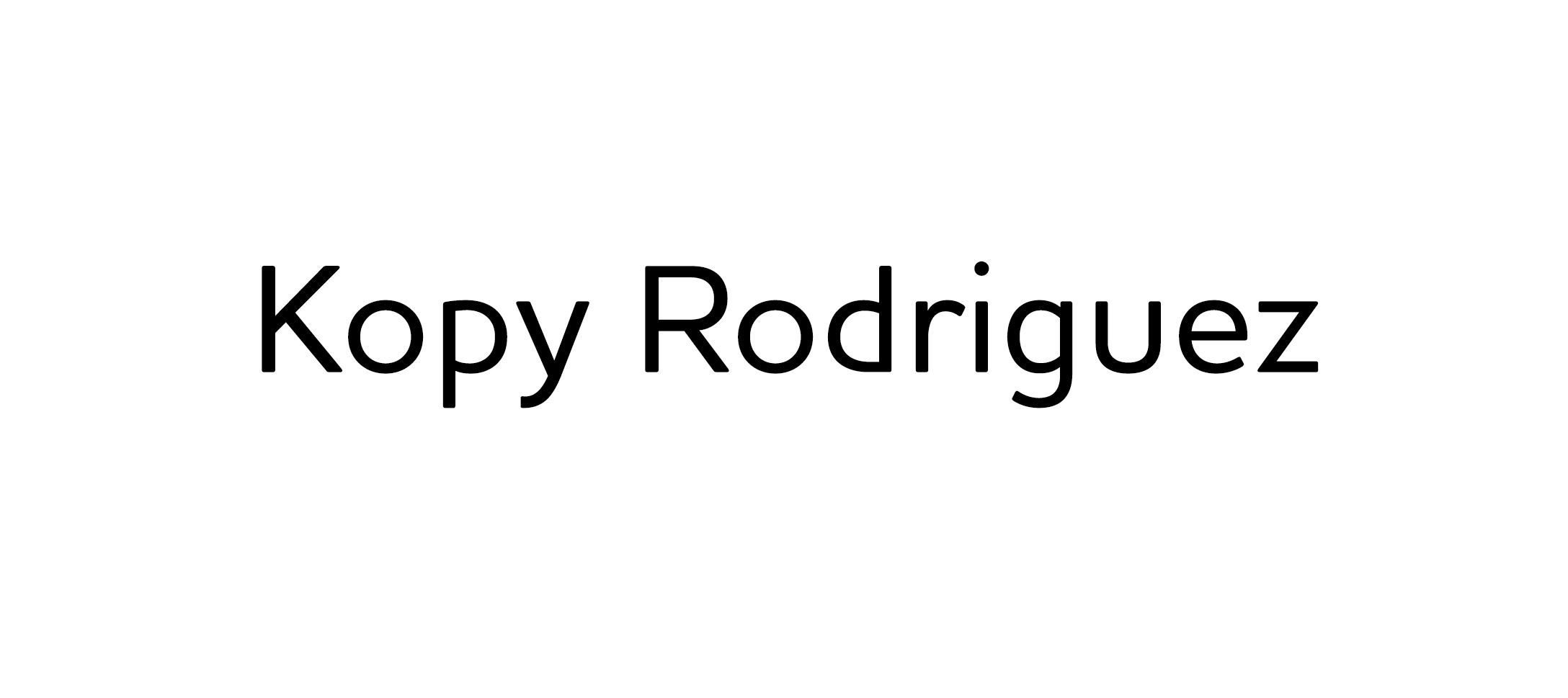 Kopy Rodriguez